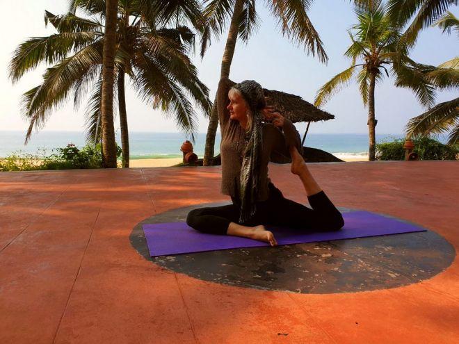 Bg joga Indija retreat
